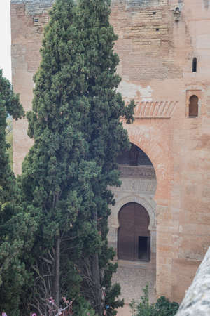 Details of the Alhambra of Granada Andalucia Spain