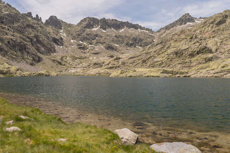 Details of the Regional Park of Gredos Spain
