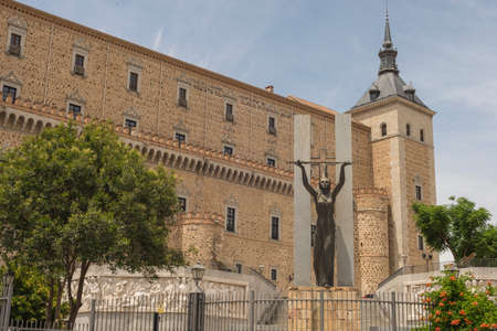 Details of the city of Toledo Spain
