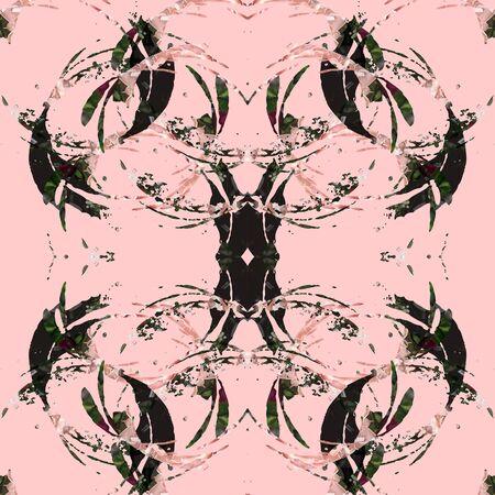 black: pink black abstract image