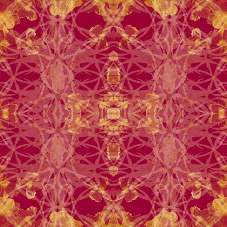 photoshop: photoshop red and gold baroque pattern picture