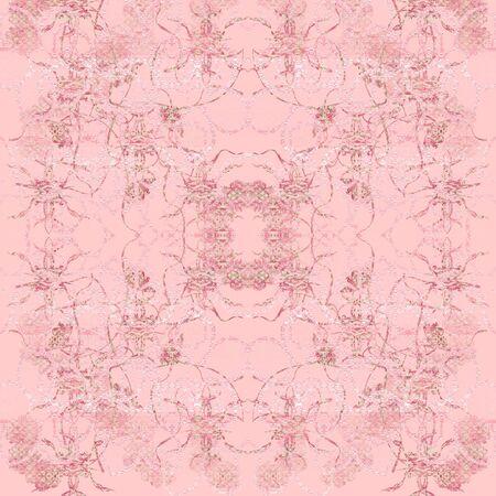 baroque: Pink baroque romantic Stock Photo