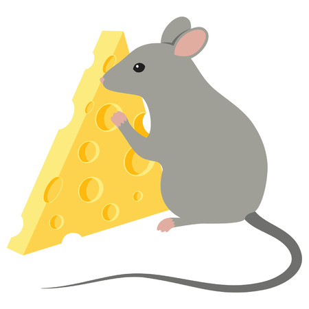 inducement: Mouse with cheese slice