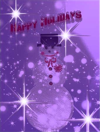 snowman Zdjęcie Seryjne