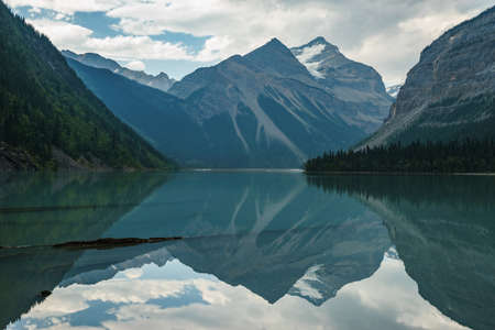 Kinney Lake in Mount Robson Provincial Park near Valemount, BC.