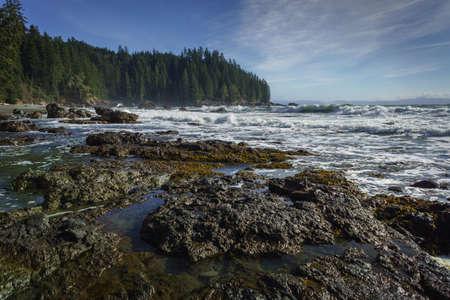 Sombrio Beach, Juan de Fuca Trail, Vancouver Island, British Columbia