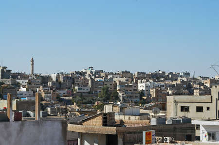 Skyline of Madaba, jordan 版權商用圖片