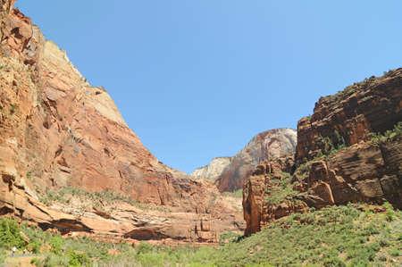 overlook: Big Bend Overlook, Zion National Park, Utah