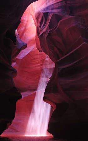 slot canyon: Antelope Slot Canyon, Page, Arizona Stock Photo