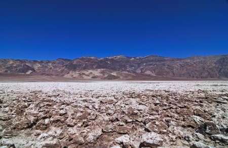 golf of california: The Devils Golf Course, Death Valley, California