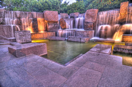district columbia: FDR Memorial HDR, Washington, DC