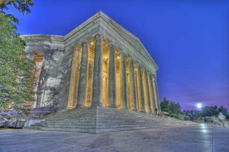 jefferson: Jefferson Memorial HDR, Washington, DC Stock Photo