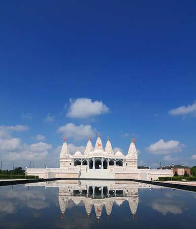stafford: Swami Narayan Temple, Stafford, Texas Archivio Fotografico