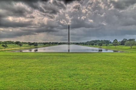 battleground: Battle of San Jacinto Monument, texas, HDR
