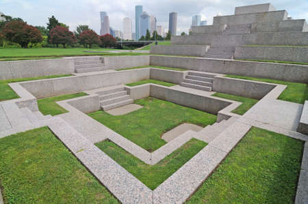 Police Officers Memorial, Houston, Texas photo