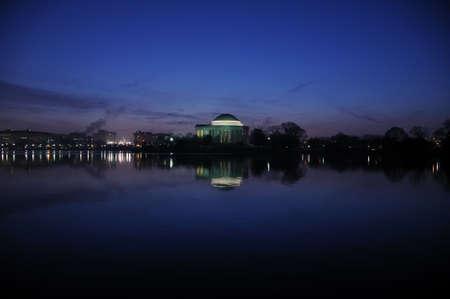 jefferson: Jefferson Memorial at dawn, Washington, DC Stock Photo