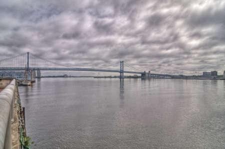 pa: Benjamin Franklin Bridge in Philadelphia, PA