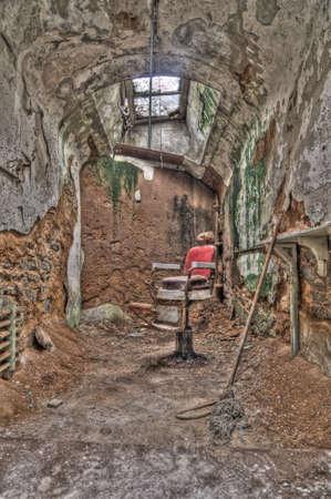 penitentiary: Eastern State Penitentiary, Philadelphia, PA Stock Photo