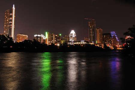 austin: Austin, Texas skyline
