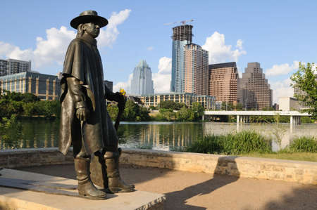 austin: Austin, Texas-skyline  Lizenzfreie Bilder