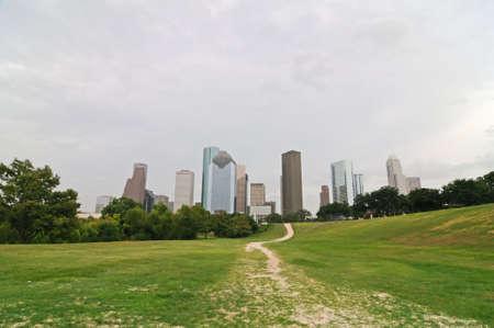 City skyline, Houston, Texas photo