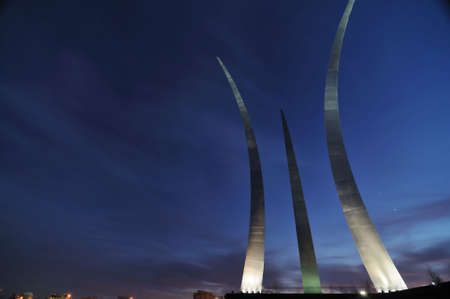 va: Air Force Memorial in Arlington, Virginia
