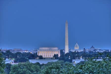 washington: Washington DC Skyline