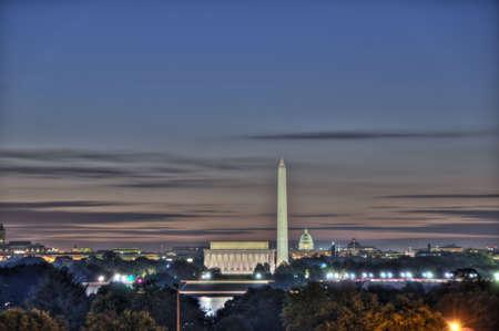 dc: Skyline di Washington DC