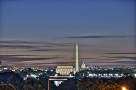 district columbia: Washington DC Skyline