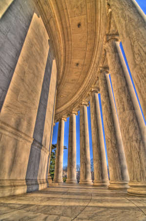 jefferson: The Jefferson Memorial, Washington, DC Stock Photo