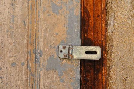 rusts: Rusty latch Stock Photo