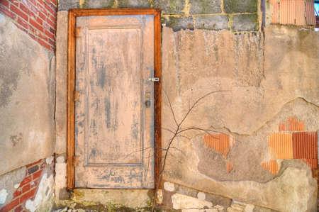 oxidado: Rusty puerta