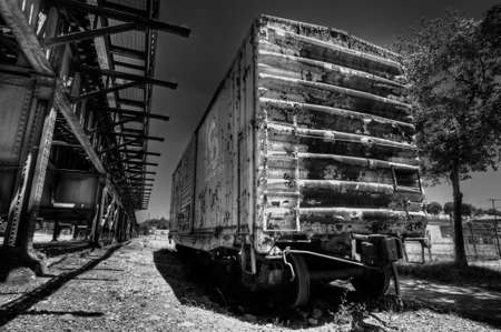 rusts: Train car