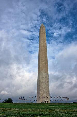 Washington Monument on the National Mall in Washington, DC Stock fotó