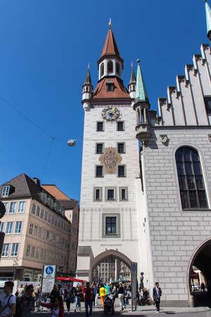 Marienplatz so called Mary Square