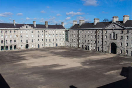 Former military barracks in the Arbour Hill area of Dublin, Ireland and now the National Museum of Ireland, Decorative Arts and History