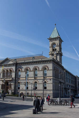 mayoral: Dun Laoghaire is a suburban seaside town of Dublin and the country hall is one of the main places in the city centre Editorial