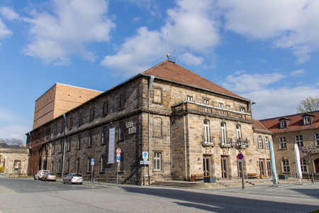 old town guildhall: The Town Hall Theatre in Bayreuth is one of the most cultural buildings in the city and is located at Friedrichstrae Ludwigstrae in the center of the city