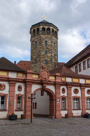 caspar: The octagonal bell tower built in 1656 in Bayreuth which is located and close to the The Old Castle The Tower which designed by Caspar Fischer and is Commonly Referred to as the