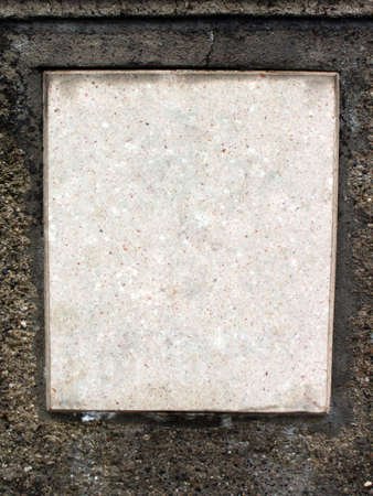free plate: Free space on a plate of marble for own words  text