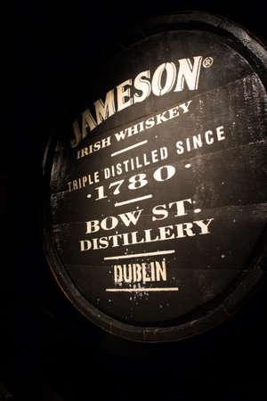 triple: Black barrel with local triple destilled Irish whiskey from Jameson