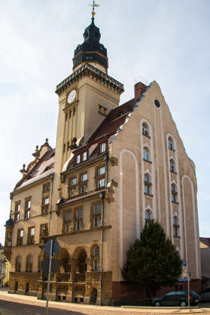 town halls: The town hall of Werdau was built in 1911 and is one of the most beautiful town halls in Saxony