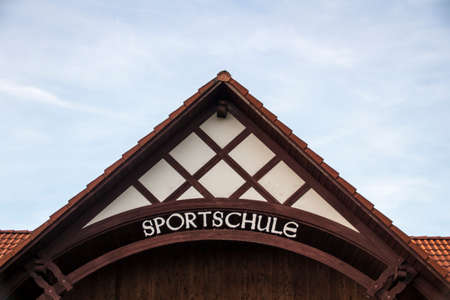 sponsorship: The Sportschule is a training center for sports and is sponsored by the federal state of Saxony, the school is well know for football, handball and volleyball