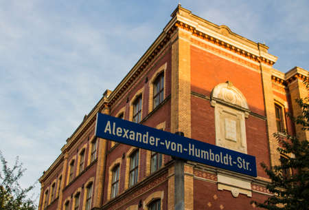 secondary school: The secondary school Alexander von Humboldt Gymnasium in Werdau looks back on a history of more than 140 years, the building was established in 1875 Editorial