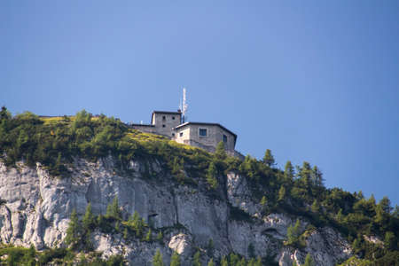 The Kehlsteinhaus also known as the Eagles Nest on top of the Kehlstein at 1.834m is the formerly  home and southern headquarters, the Eagles Nest is located close to Berchtesgaden