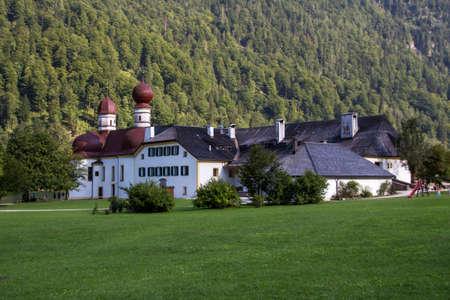 apostle: St. Bartholomews church, a Roman Catholic pilgrimage church in the Berchtesgadener Land named after Saint Bartholomew the Apostle