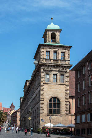 administrative buildings: The Town Hall Old Town Hall is one of the few buildings in Nuremberg Which are Influenced by the Renaissance, it destroyed what in second world war, rebuilt in 1956 and now serves as building for Nurembergs administrative functions