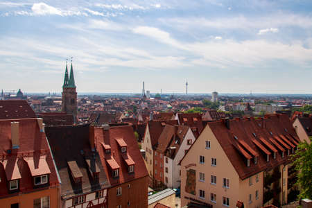 laurence: Cityscape of the old town of Nuremberg, the picture was shot from the Nuremberg Castle