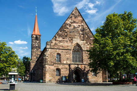flagging: The St. James Church in Nuremberg is a truly historical place with the citys oldest High Altar