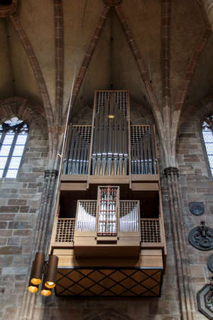 laurence: Church organ of the St. Lorenz Church